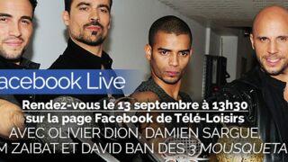 Facebook Live : posez vos questions à la troupe des 3 Mousquetaires en direct du Palais des sports