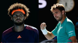 Open d'Australie : en plein match, la tension est montée entre Jo-Wilfried Tsonga et Stan Wawrinka (VIDEO)