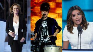Eva Longoria, Alicia Keys, Lena Dunham... Les stars soutiennent Hillary Clinton (PHOTOS)