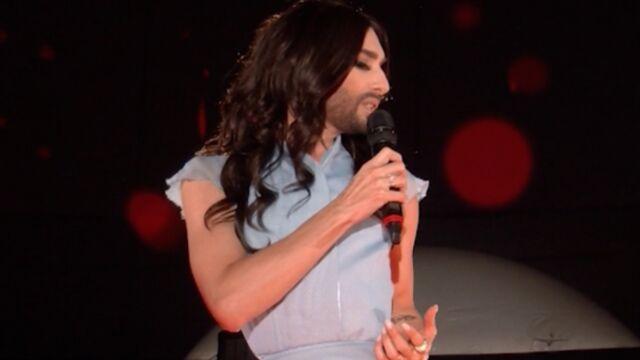 "Conchita Wurst : ""Je vais remettre du fun dans l'Eurovision"" (VIDEO)"
