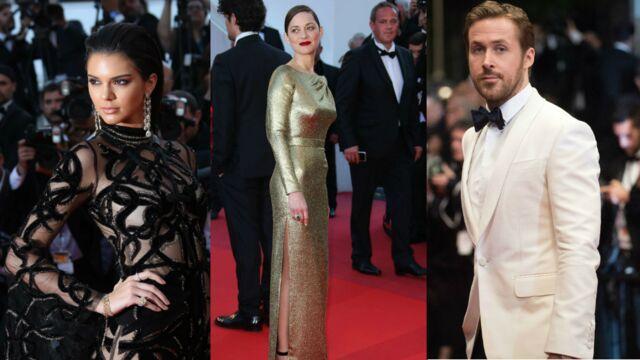 Cannes 2016 : Marion Cotillard lumineuse, Ryan Gosling et Russell Crowe cool sur les marches (31 PHOTOS)