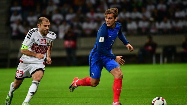 Audiences : Victoire de TF1 avec le match nul des Bleus en Biélorussie