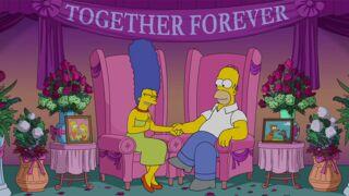 Les Simpson : Homer et Marge mettent un terme aux rumeurs de divorce dans une vidéo