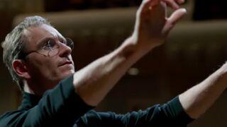 Steve Jobs : les premiers pas de Michael Fassbender dans la peau du génie de l'informatique (VIDEO)