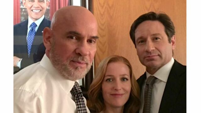 X-Files : première photo des retrouvailles de Mulder, Scully et Skinner