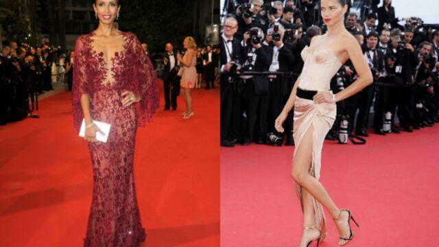 CANNES 2014 : robe transparente ou fendue ? Il faut choisir ! (PHOTOS)
