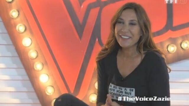 """Zazie prête à """"offrir une choucroute garnie"""" aux talents de The Voice (VIDEO)"""