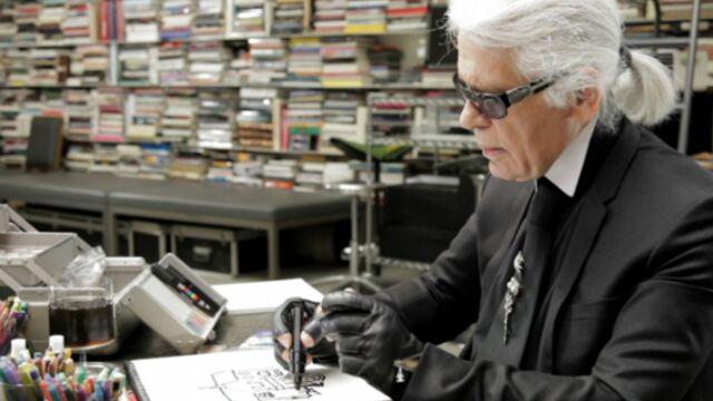 Karl Lagerfeld héros d'une soirée sur Arte (VIDEO)