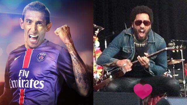 Angel Di Maria, Lenny Kravitz... Ils ont buzzé cette semaine !
