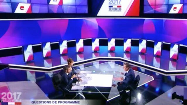Audiences : France 2 a attiré les citoyens avec Présidentielle 2017, 15 minutes pour convaincre