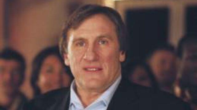 Gérard Depardieu, invité de François Busnel sur France 5