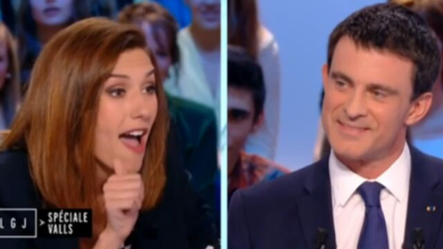 Le Grand Journal : Doria Tillier conseille Manuel Valls (VIDEO)