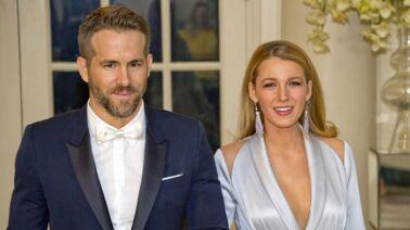 Ryan Reynolds Jolis Souliers Et Sucreries Blake Lively Affiche Sa