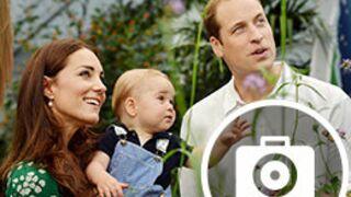Kate Middleton, le prince William et baby George : Leur année 2014 en images (33 PHOTOS)