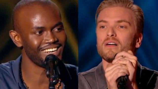 Alvy Zamé et Guilhem Valayé créent l'unanimité chez les jurés de The Voice (VIDÉOS)