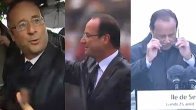 Le Top 3 des interventions pluvieuses de François Hollande ! (VIDEOS)