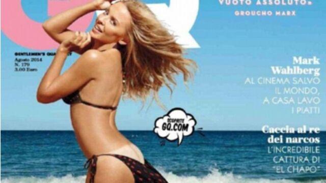 Les fesses de Kylie Minogue en une de GQ