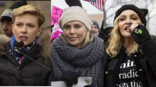 Scarlett Johansson, Madonna, Emma Watson, Charlize Theron... Les stars manifestent contre Donald Trump (PHOTOS)