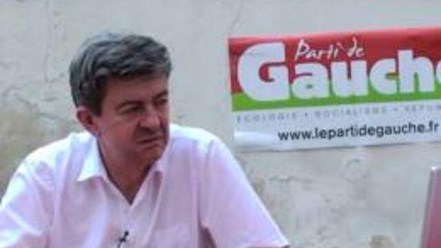 Jean-Luc Melenchon invité de Vivement dimanche le 7 novembre