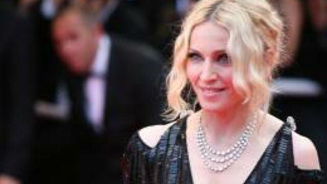 Madonna à Cannes pour les enfants du Malawi
