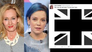 Brexit : J.K Rowling, Lily Allen, Lena Headey... les stars choquées par les résultats du vote