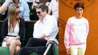 Hugh Grant aux premières loges, Alessandra Sublet en belle de match... Les people sont à Roland-Garros (25 PHOTOS)