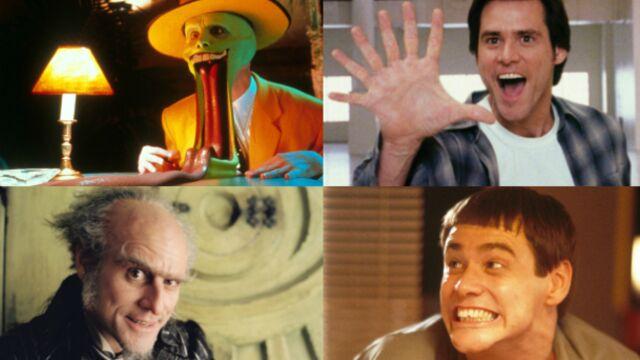 Les mille visages de Jim Carrey (PHOTOS)