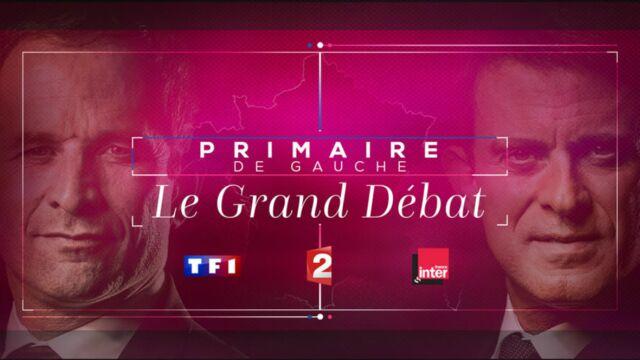 Primaire de la gauche : voici les thèmes du débat Hamon-Valls de ce soir
