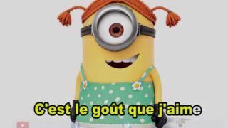 Louane : les Minions la parodient et se moquent de sa peur des bananes (VIDEO)