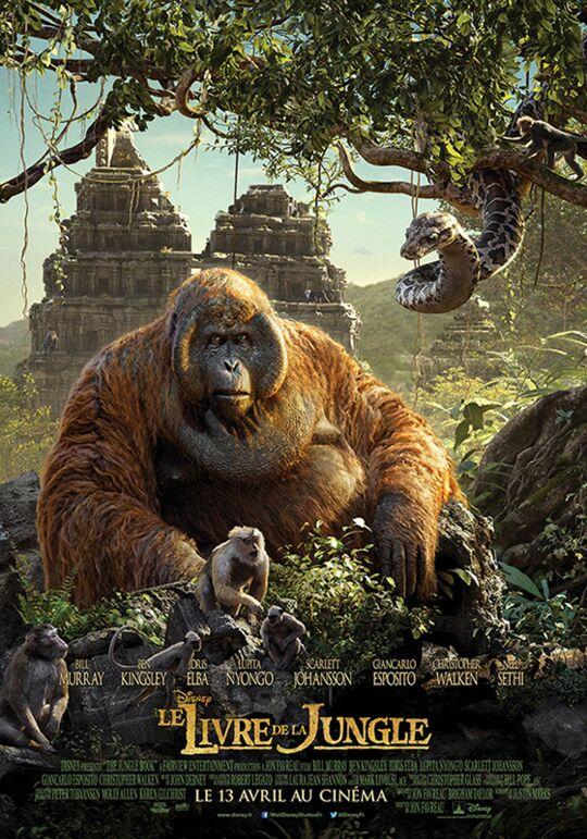 Le Livre de la jungle, film en live-action de Disney