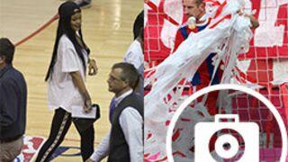 Rihanna aime le basketball, Ribéry fait la fête : le best of insolite sport (15 PHOTOS)