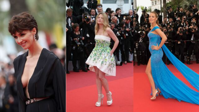 Cannes 2016 : stars, excentricité et décolleté plongeant pour la montée des marches du Bon Gros géant de Steven Spielberg (21 PHOTOS)