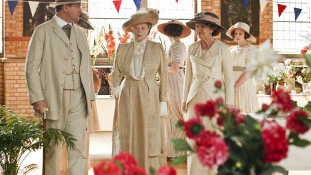 Downton Abbey renouvelée pour une saison 5, deux autres séries prolongées