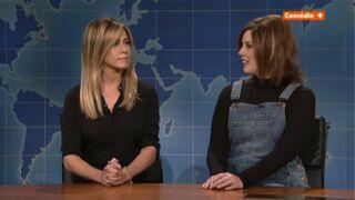 Jennifer Aniston rencontre Rachel de Friends dans une séquence délirante