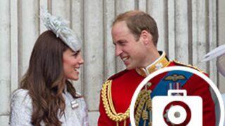 Kate et William dissipés et amoureux pour les 88 ans d'Elisabeth II (19 PHOTOS)