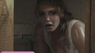 Jennifer Lawrence (Hunger Games) en plein cauchemar (VIDEO)
