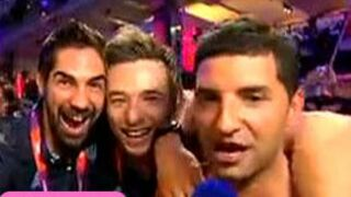 Zapping : Les handballeurs déshabillent un journaliste de BFM TV (VIDEO)