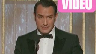 Golden Globes 2012 : Le triomphe de Jean Dujardin (VIDEO)