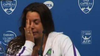 Tennis : Marion Bartoli annonce qu'elle arrête sa carrière (VIDEO)