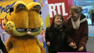 Garfield rencontre ses fans au Salon de l'agriculture (VIDEO)