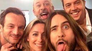 C à vous : Anne-Sophie Lapix s'offre un selfie avec... Jared Leto !