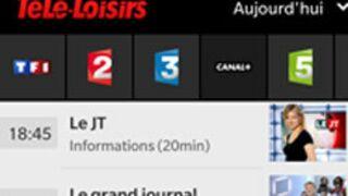 L'appli Télé-Loisirs arrive sur BlackBerry !