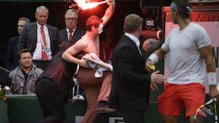 Roland-Garros : la finale Nadal/Ferrer interrompue par des manifestants (VIDEO)