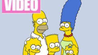 Les personnages de Glee s'invitent chez les Simpson ! (VIDEO)