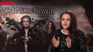 """Kristen Stewart (Blanche-Neige et le chasseur, TMC) : """"J'étais pétrifiée par les chevaux !"""" (VIDEO)"""
