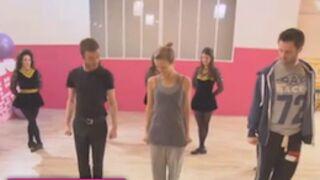 Danse avec les stars : Lorie s'essaye à la danse celtique (VIDEOS)
