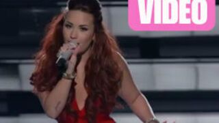 People's Choice Awards 2012 : Le gros raté de Demi Lovato (VIDEO)