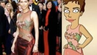 Halle Berry remet un Oscar à Bart Simpson !