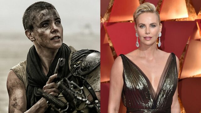 Mad Max Fury Road (France 2) : Charlize Theron, furieusement belle (PHOTOS)