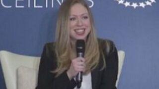 Chelsea, la fille de Bill et Hillary Clinton est enceinte (VIDO)